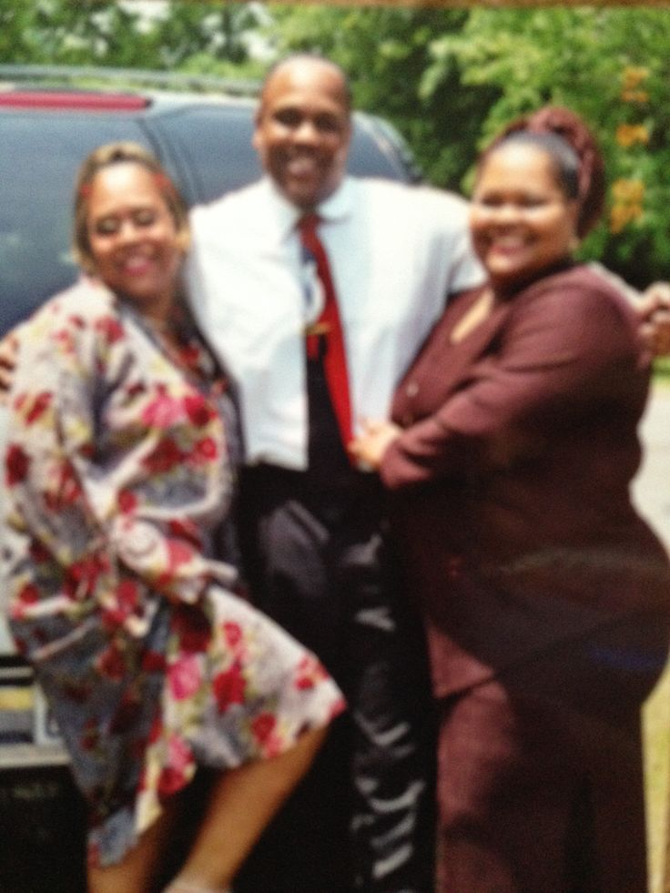 my sisters and my hubby