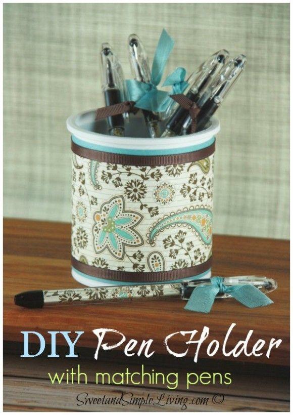 DIY Pen Holder