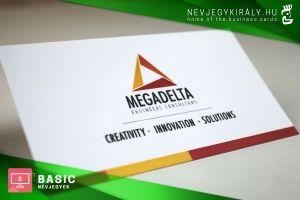 BASIC Megadelta névjegy