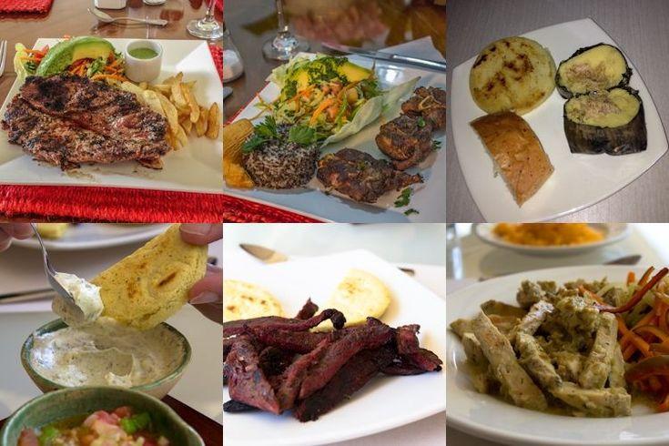 La gastronomía santandereana en imágenes: desde el asado de la Hacienda El Roble, a la carne oreada y el pollo de La Nube Gastronómica, pasando por el tamal de Santos de Piedra