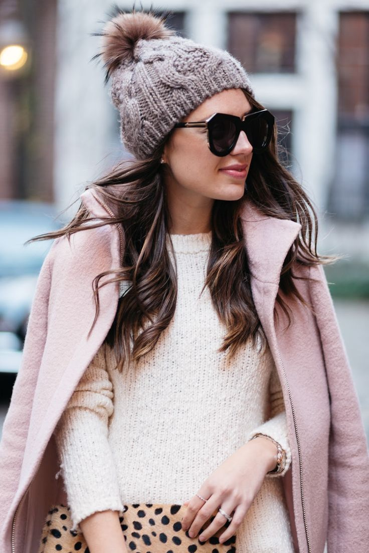 Winter Whites + A Pop Of Pink! (J. McLaughlin Wardrobe Essentials)