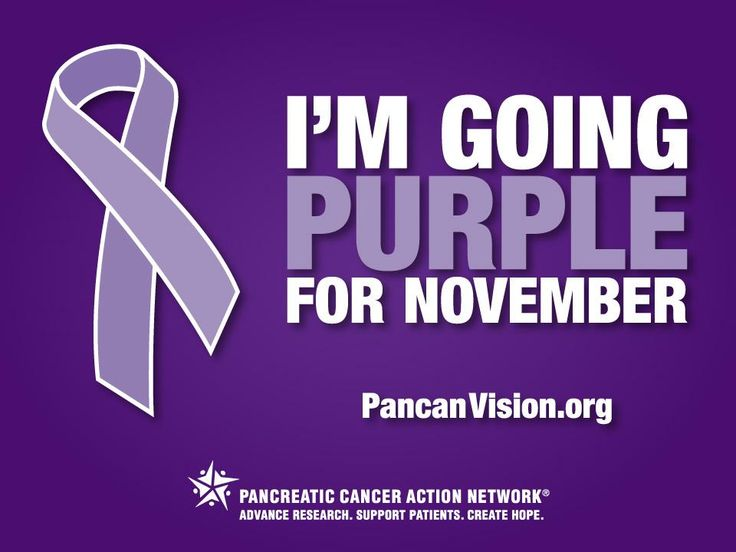 National Pancreatic Cancer Awareness Month is halfway over!     Help us create awareness, get your purple ribbon here: http://twibbon.com/support/pancan-2