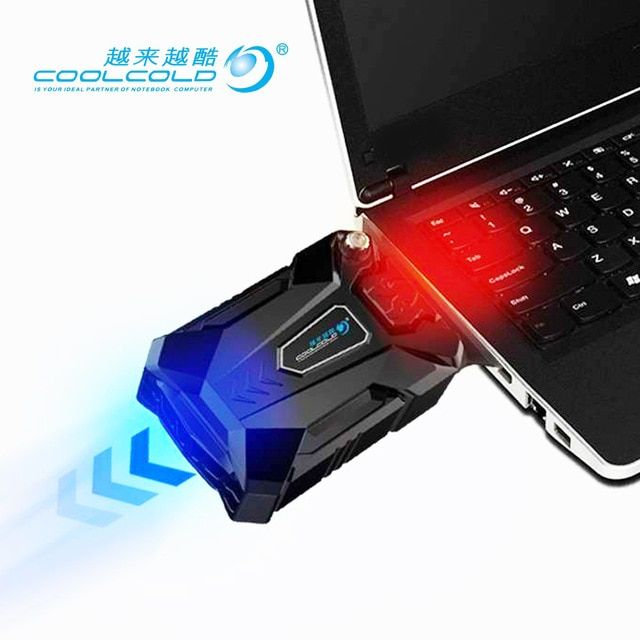 High Performance Suction Type External Laptop Cooler Usb Fan