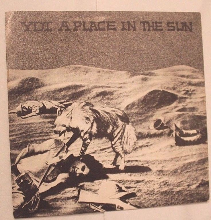 """YDI A Place in the Sun 7"""" Original vinyl 1983 Blood Bubble Philly NO RESERVE kbd #SheerRAGE ONLY MINUTES LEFT!"""