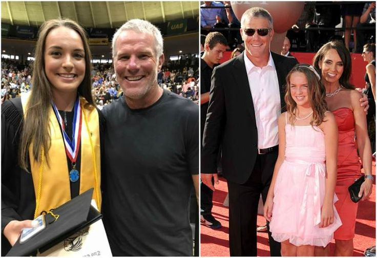 Brett Favre's kid - daughter Breleigh Favre