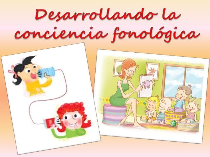 creando clases divertidas sobre la conciencia fonológica en los niveles de escolarida