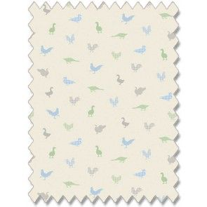 Feathered Friends Bluebell Roller Blind