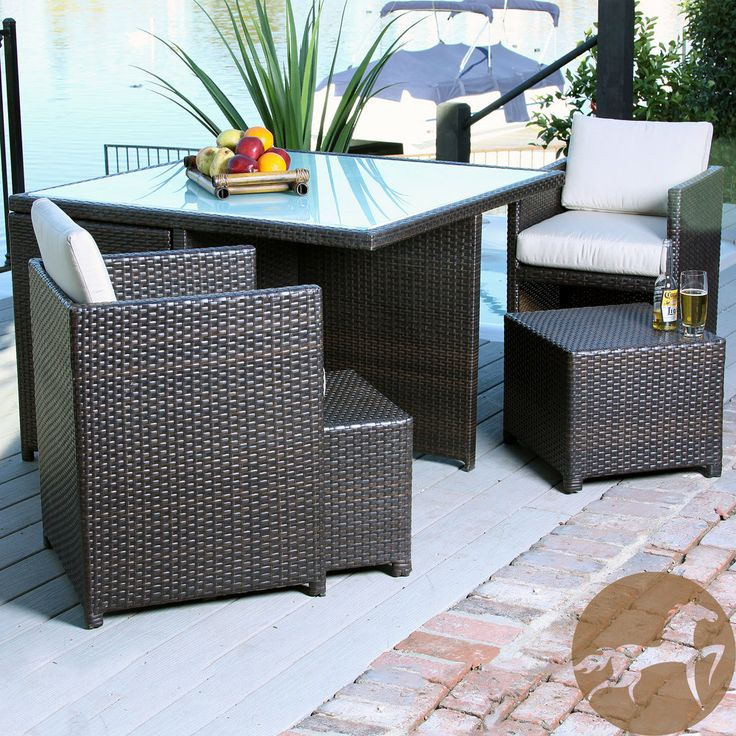 Christopher Knight Home Beaumont 9-piece Outdoor Seating Set   Overstock.com Shopping - Big Discounts on Christopher Knight Home Sofas, Chai...