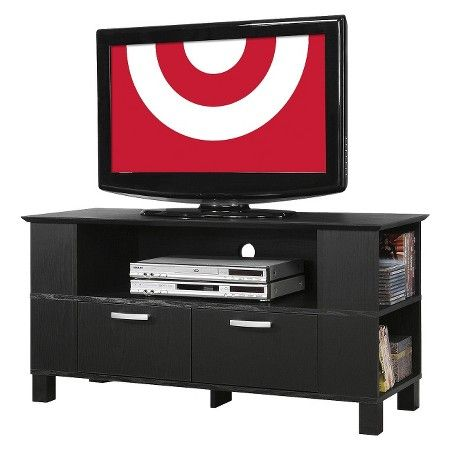 """Wood TV Stand with Drawers and Side 44"""" - Walker Edison : Target"""