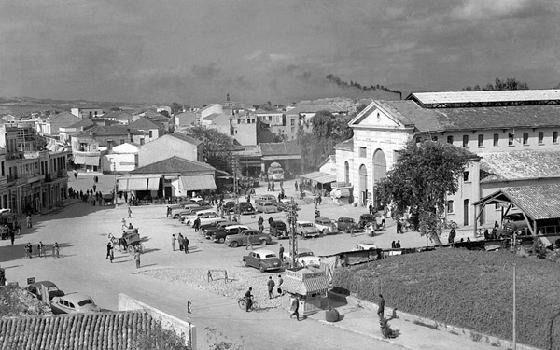 Chania, old Market, in1950
