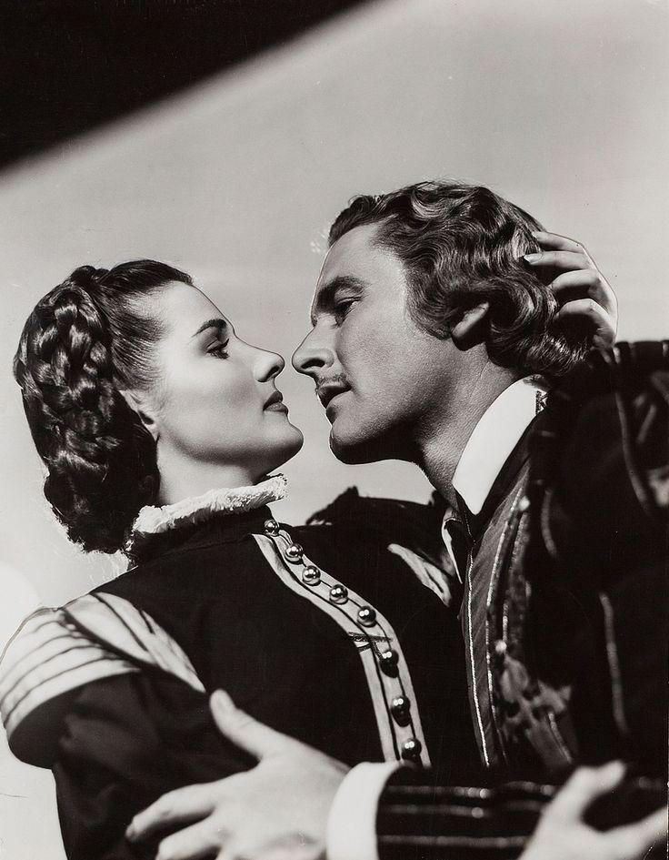the sea hawk/flynn   Brenda Marshall and Errol Flynn, The Sea Hawk (1940)   Errol Flynn ...