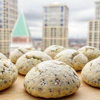 SUSAMLI HAŞHAŞLI KURABİYE sesame poppy cookies recipe  dessert tatlı tarifleri