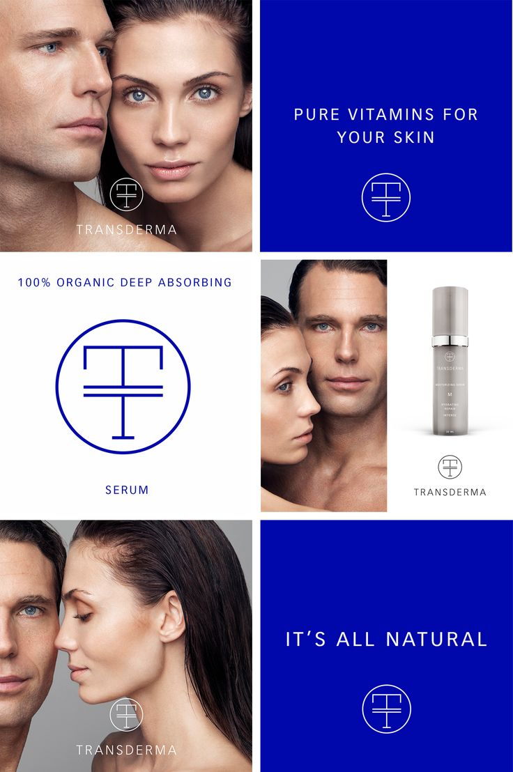 Brand new identity for Transderma Skin Care – a Swedish awarded innovation. Organic serums without preservatives, perfume, oil or water.