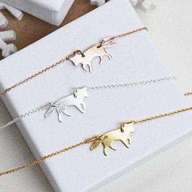 Biżuteria z motywem zwierząt. Kup na: https://laoni.pl/bizuteria-z-motywem-zwierzat-i-owadow #zwierzęta #łańcuszki #celebrytki #złote #srebrne
