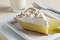 Lemon Meringue Pie, Traditional Recipe (Replace juice with fresh key lime juice for Key Lime Pie)