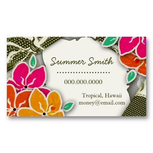29 best business cards images on pinterest business card design rockin lainey hawaiian business card reheart Gallery