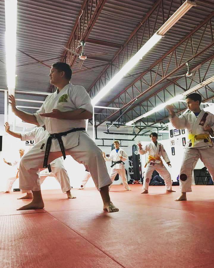 Check out Sudbury MMAs Karate class!!  ONE TEAM - ONE FAMILY   #karate #sudburymma #onefamily #oneteam #getit #train #trainhard #healthy #lifestyle #family #fitness #fun
