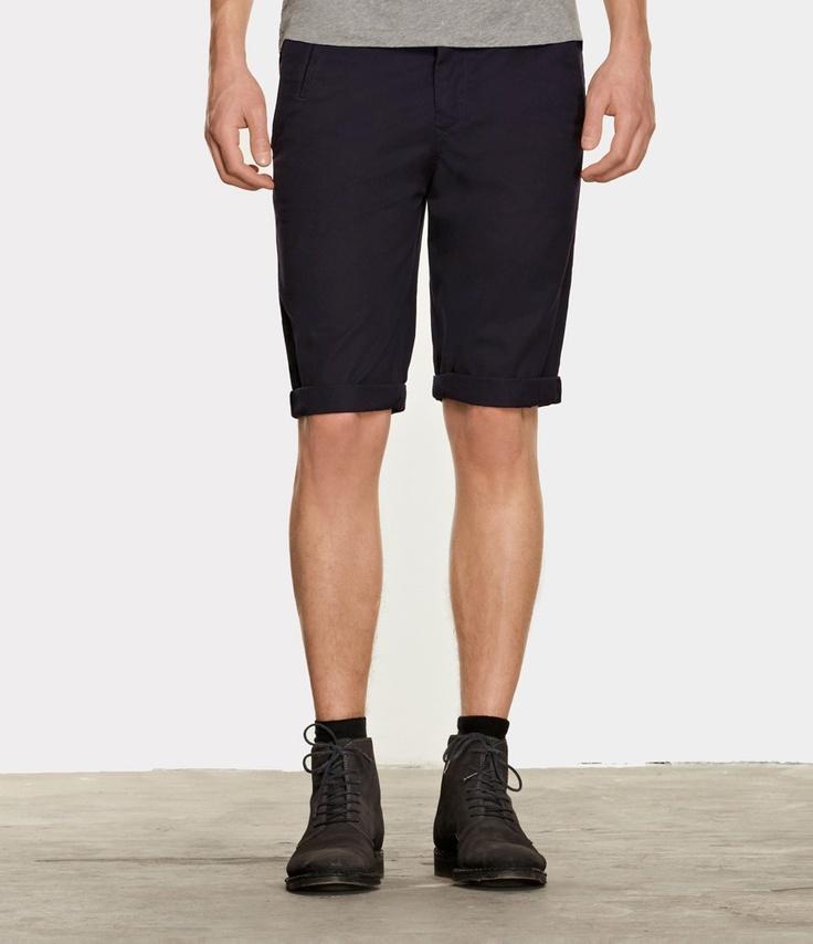 Mitre Shorts, Men, Shorts, AllSaints Spitalfields