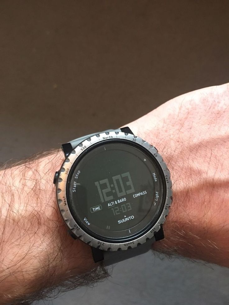 Suunto Core Dusk Gray Limited Ed Outdoor Watch Altimeter Barometer Compass  #Suunto