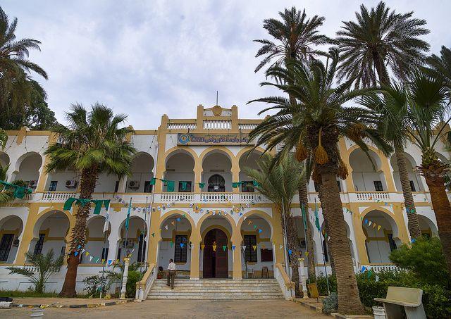 Official Building From The Italian Settlement In Benghazi, Libya | par Eric Lafforgue