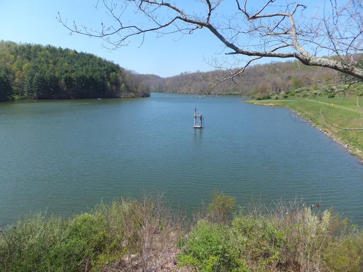 Dan Hale Reservoir Princeton, West Virginia.