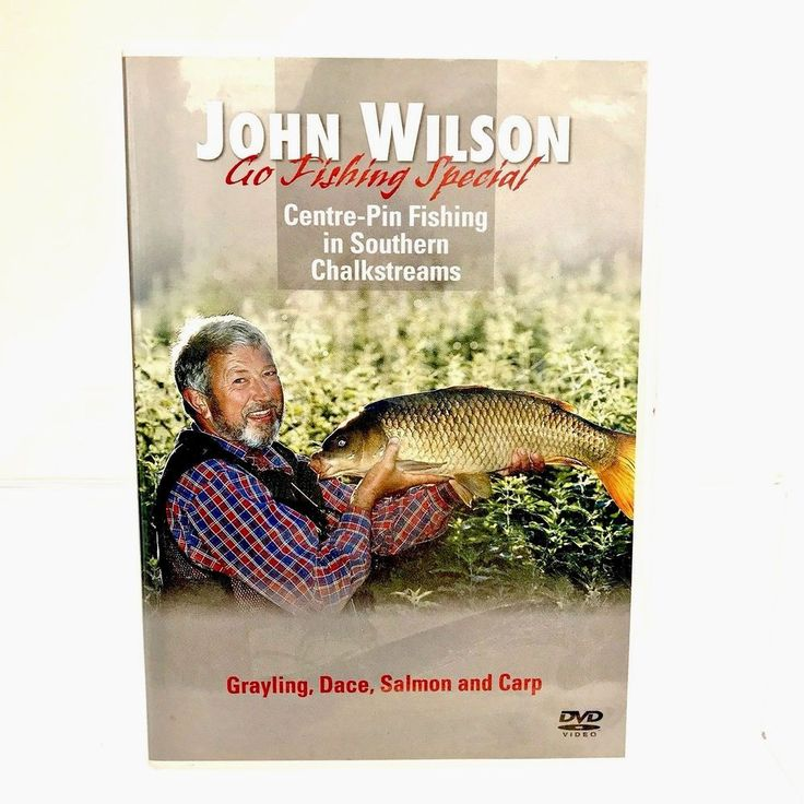 John Wilson Go Fishing Special DVD Centre Pin Fishing in Southern Chalkstreams