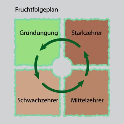 Fruchtfolgeplan