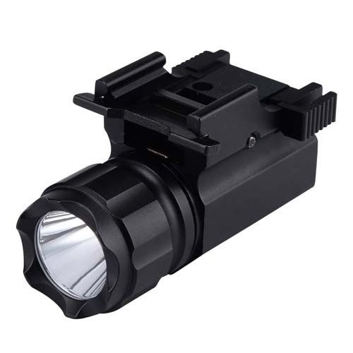 Engage 190 Lumen Pistol LED Strobe Flashlight with Weaver Quick Release, Tactical Torch Light for Hunting, Camping, Hiking. * You can find more details by visiting the image link.