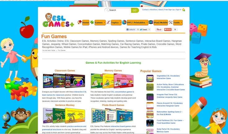 Słownictwo i gramatyka - gry