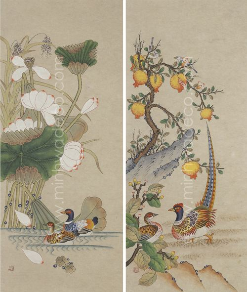 320 best Korean Folk Art - MINHWA images on Pinterest ...