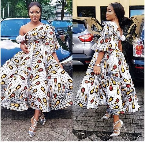 Creative Short Ankara Gowns Styles for Beautiful Ladies - DeZango Fashion Zone