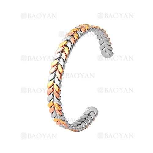 pulsera de color mixta especial en acero inoxidable -SSBTG244245