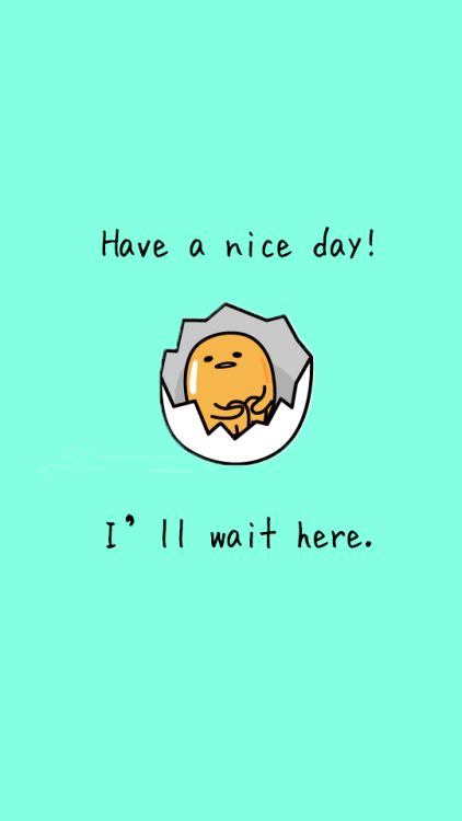 I'm SO in love with Gudetama! The Lazy Egg who I discovered in Japan, just looking at him makes me happy!
