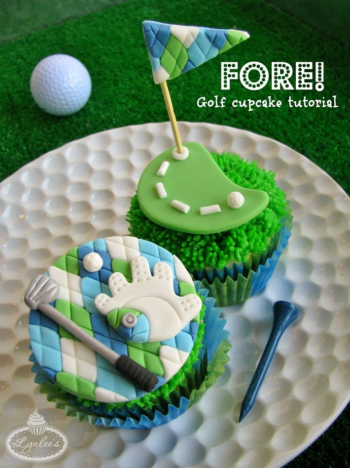 Whether you're an avid golfer or enjoy a good game of miniature golf, enjoy the sweet side of this pastime  with these golf cake toppers!