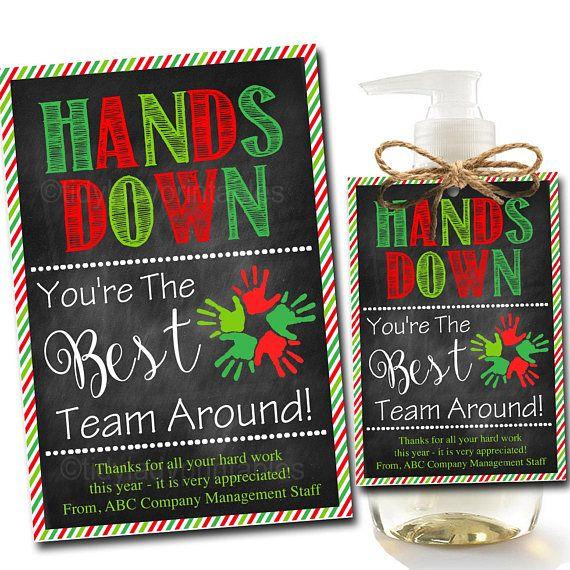 Editable Soap Label Tags Staff Volunteer Appreciation Gift