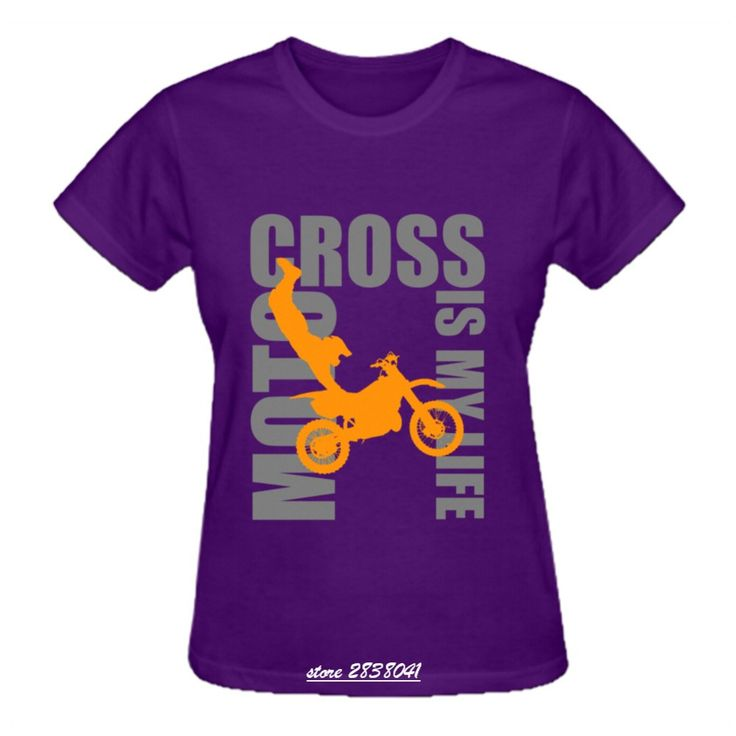 >> Click to Buy << RTTMALL Cotton Car Must Be Held By The Racer T Shirt Print Motorcross is My Life Young Lady T shirt Plus Size Hipster Women Tops #Affiliate