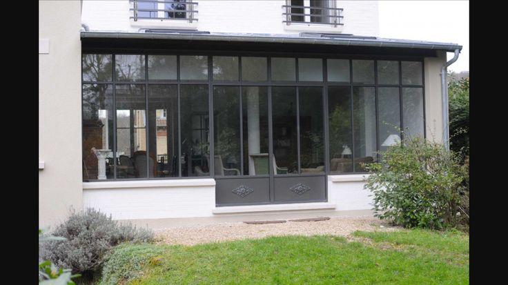 les 25 meilleures id es de la cat gorie veranda aluminium sur pinterest pergola aluminium. Black Bedroom Furniture Sets. Home Design Ideas