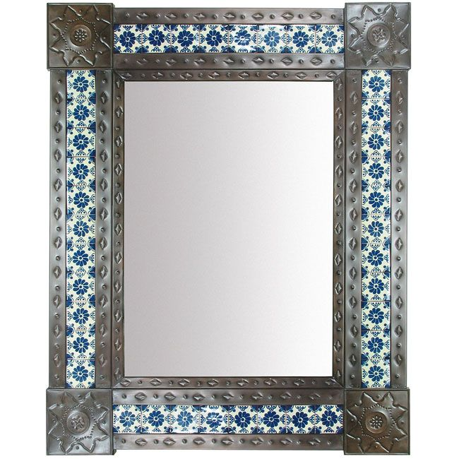 17 Best Mexican Wall Mirrors Metal Wood Amp Tile Images