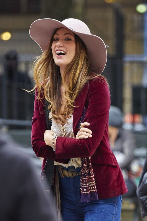 Olivia Wilde, en mode 70's !
