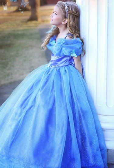 Couture Cinderella Butterfly Gown 2 to 8 Years