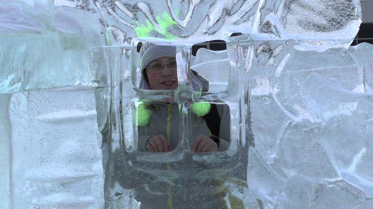 Ледяные скульптуры в Уфе | Ice sculptures in Ufa