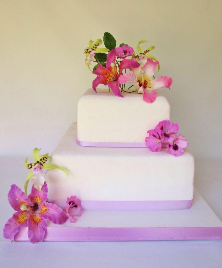 FLORESSALAHI, Diseño floral para tortas