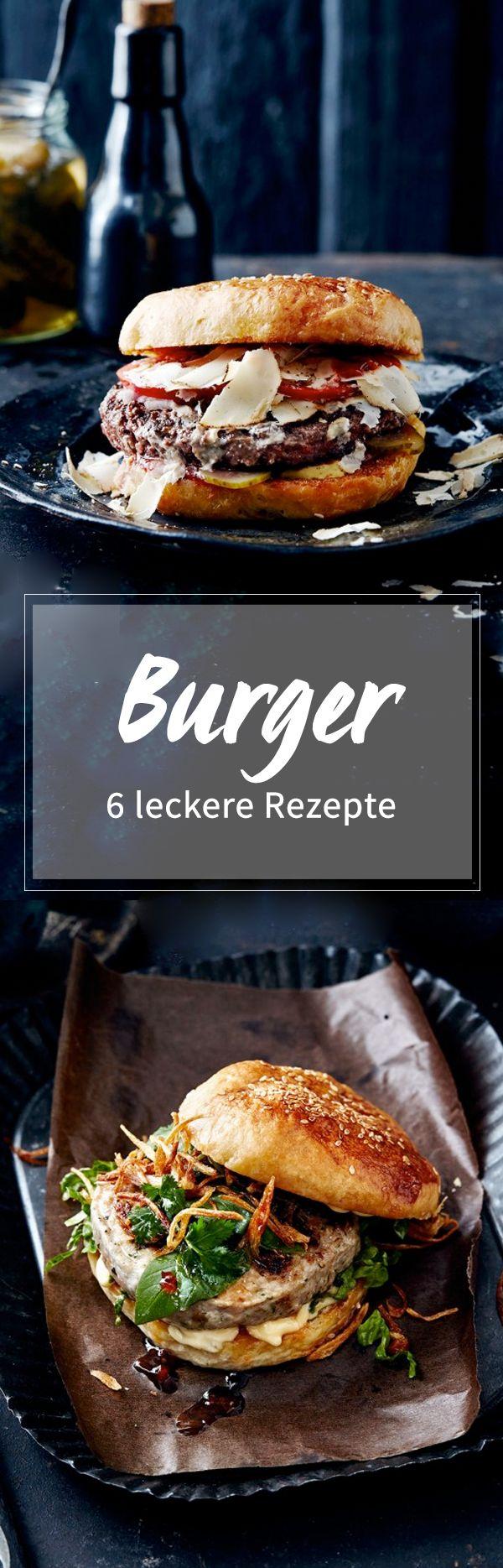 Beef-, Lachs- oder Portobello-Burger: Hier finden Sie 6 köstliche Rezepte!
