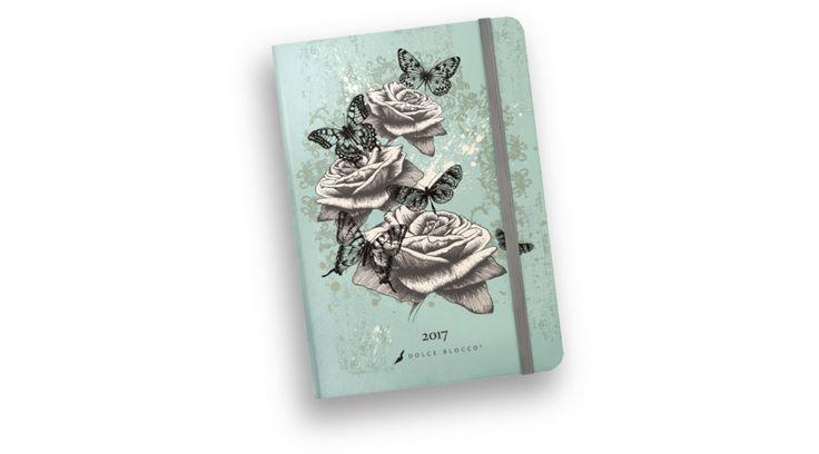 Határidőnapló napi Dolce Blocco 2017 Secret Diary Vintage Moments (B6/ 12 × 17 cm) - Agendák, határidőnaplók - Nebuló Tanszeráruház