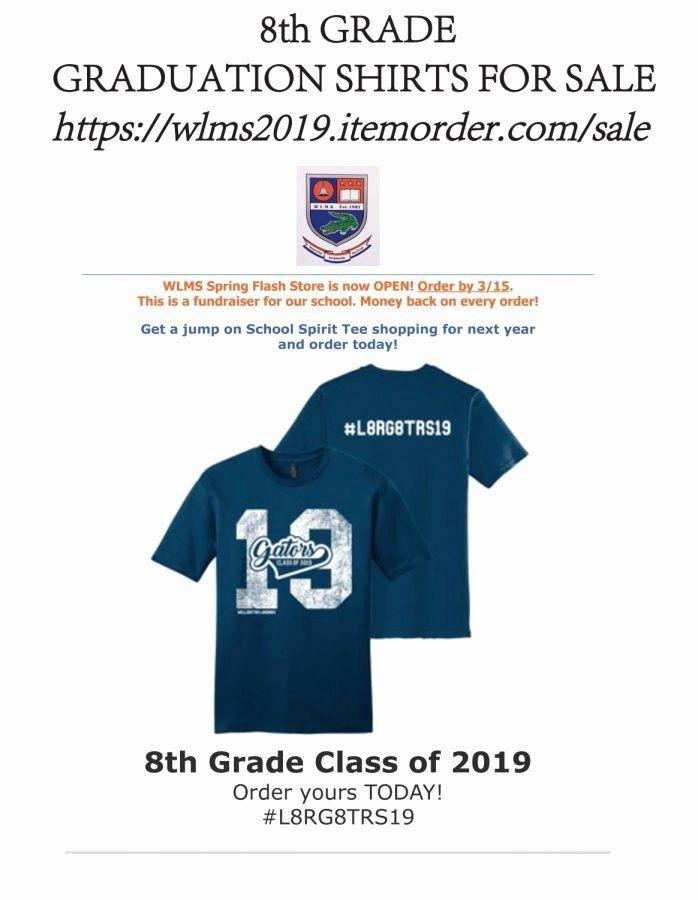 T Shirt Fundraiser Flyer New Class Of 2019 T Shirt Gator Gazette T Shirt Fundraiser Fundraiser Flyer Shirts