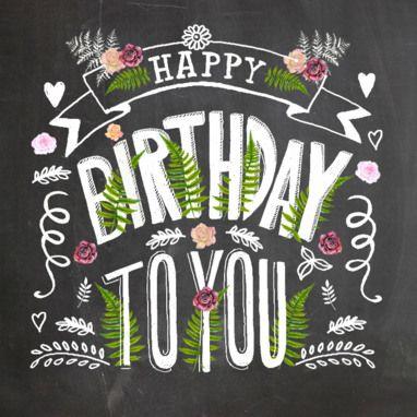 Happy birthday- Greetz