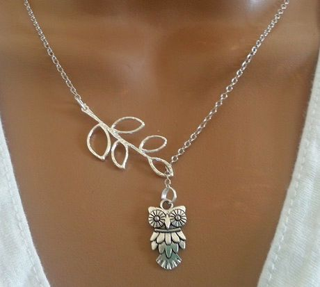 Adorable Bird or Owl Necklace | andRuby--so cute! Regular $20, on for $10.79