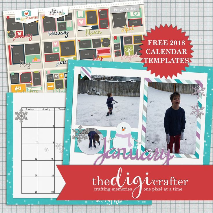 The Perfect Custom Calendar in a Few Easy Steps - The DigiCrafter