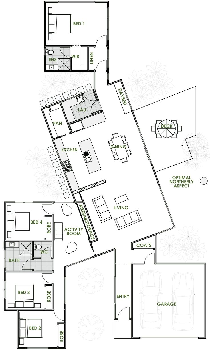 The Bond Offers The Very Best In Energy Efficient Home Design From Green  Homes Australia. Take A Look At The Floor Plan Here.