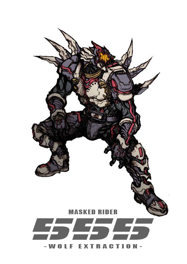Masked Rider 555 by ZakkiZaki  http://www.pixiv.net/member.php?id=1626957